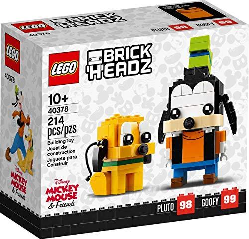 LEGO BrickHeadz Disney 40378 - Pluto & Goofy #98 & #99