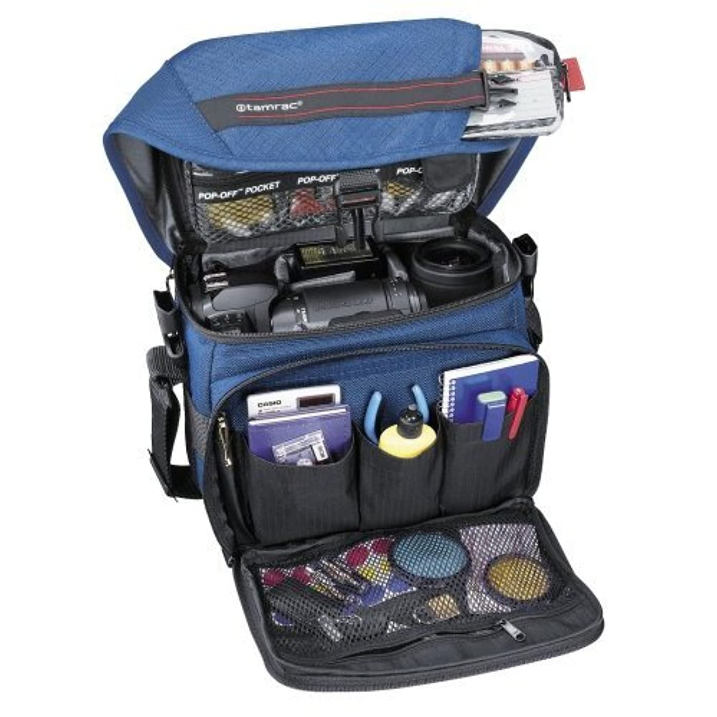 Tamrac 603 Zoom Traveler 3 Camera Bag (Navy)