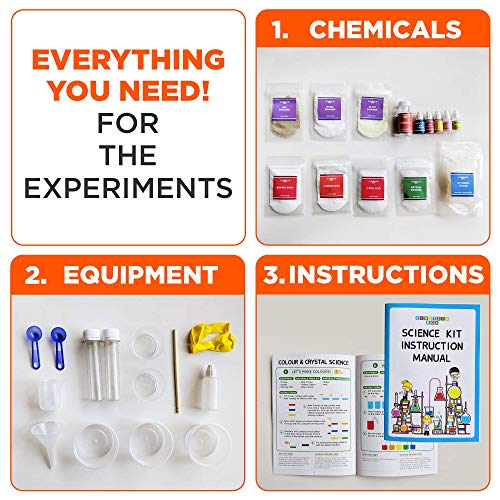 Einstein Box Science Experiment Kit | Chemistry Kit |Soap Making Kit | Toys for Boys and Girls Aged 6-12 Years | Birthday Gift Set for Girls & Boys... 5
