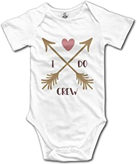 Crew Arrow Summer Baby Short Sleeve Romper Bodysuit Jumpsuit Outfits