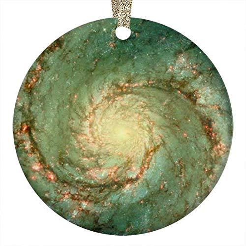 QgjayjqQ M51 Whirlpool Galaxy Ornament (Round) Personalized Ceramic Holiday Christmas Ornament Ideas 2019