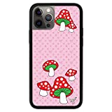 Wildflower Limited Edition Cases Compatible with iPhone 12 Pro Max (Shrooms)