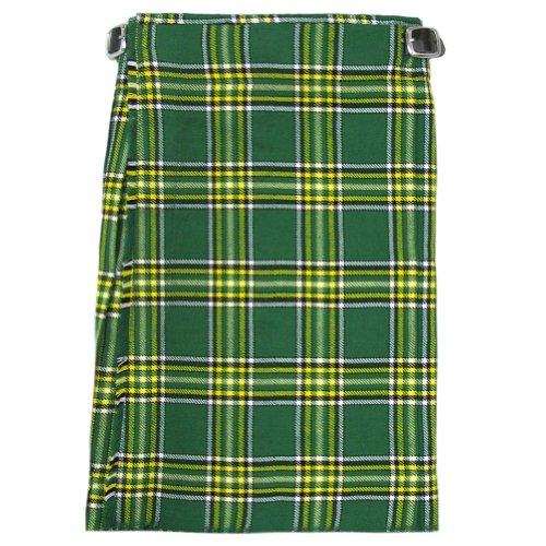 """Tartanista - Jungen Scottish-Highland-Kilt - hochwertig - Irisch - Taille - 66 cm (26""""), Länge - 56 cm (22"""")"""