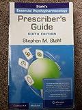 Prescriber's Guide Allergan Special Sale: Stahl's Essential Psychopharmacology