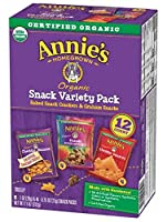 Annie's Homegrown アニーの故郷 バラエティスナックパック スナック 312g [並行輸入品]