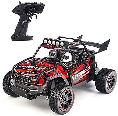 Todo Terreno Rc 2,4 GHz de alta velocidad 1:18 alta velocidad eléctrico recargable Buggy coche de carreras, radio control remoto de la roca de la roca Off-Road de vehículos de juguete educativo sobre