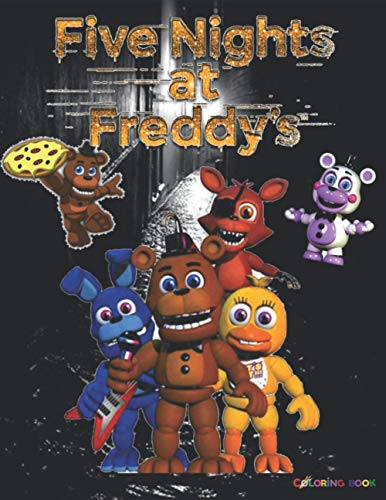 Five Nights at Freddy's Coloring Book: +50 coloring pages