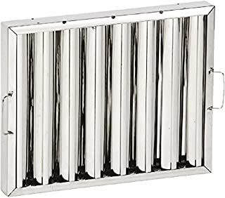 Stainless Steel Baffle Filter - Inter-changeable with most canopies. by Unknown