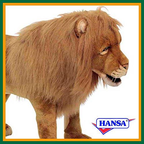HANSA ハンサ ぬいぐるみ 6079 スツール ライオン 78 LION STOOL
