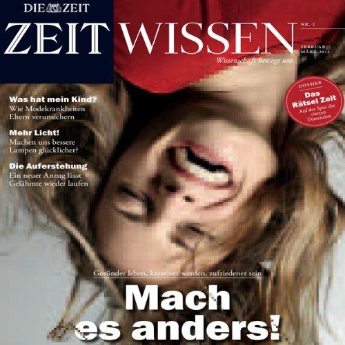 ZeitWissen, Februar / März 2013 Titelbild