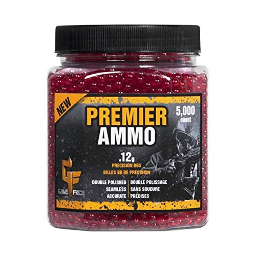 Crosman ASP512 AirSoft BBs (5000 .12G 6mm, Red BBs)
