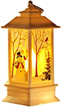 Lanternas de Natal, lanterna de LED de Natal, lanterna de decoração de Natal, luminária de mesa vintage de Papai Noel, luz...