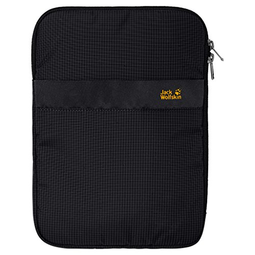 Jack Wolfskin Tablethülle E-Protect 10 Zoll Pouch, Black, 27.5 x 20 x 2.5 cm, 0.001 Liter