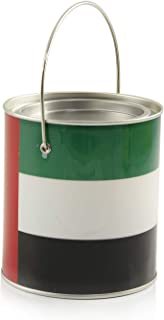 Uae National Day Can Box With Handle, 12.5 X 8 Cm - Tn-406-3