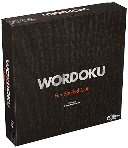 Calliope Wordoku - Fun Spelled Out! - Crossword/Sudoku Blended Family Board Game