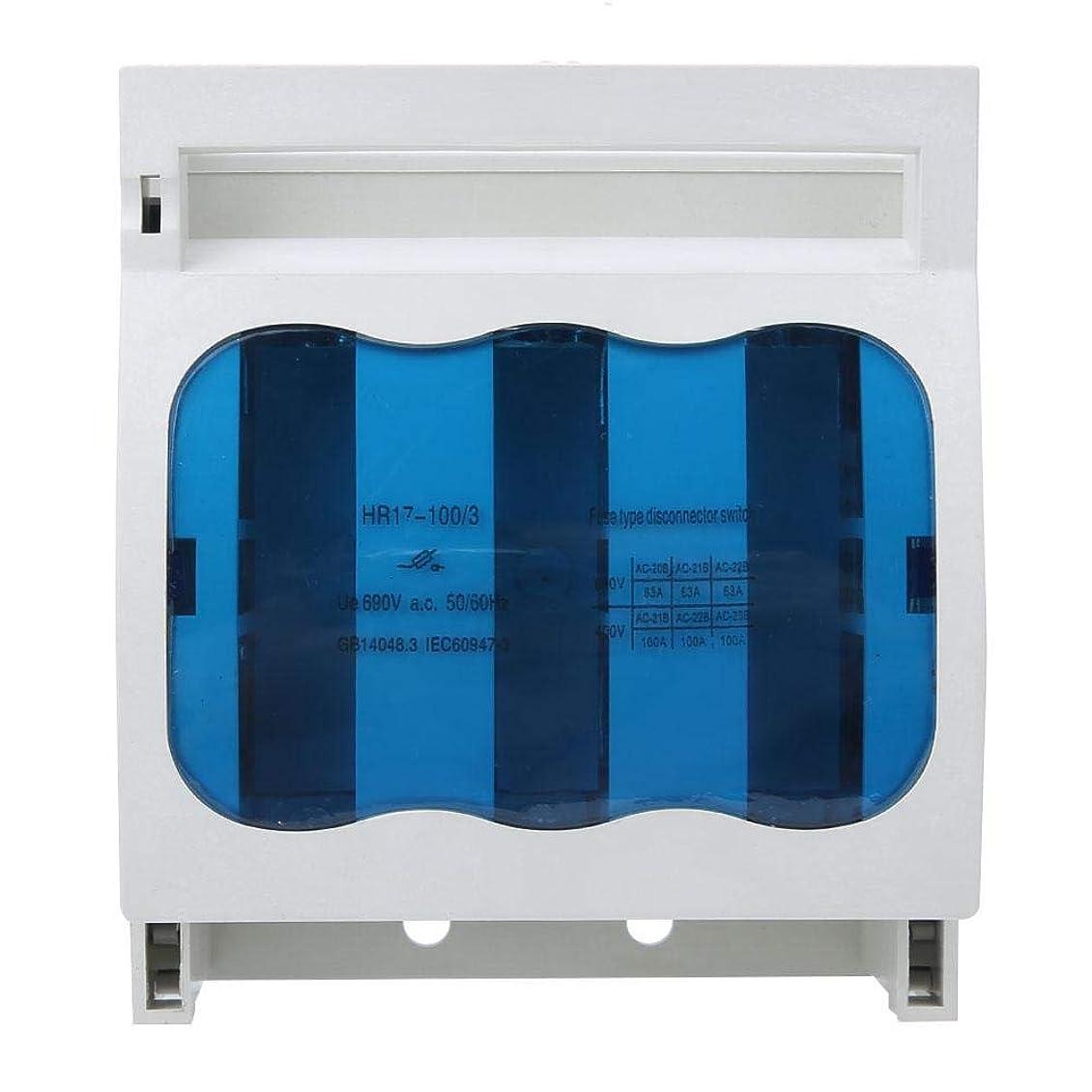 ヒール光電証明するSYF-SYF ヒューズタイプ隔離スイッチ、3極産業ヒューズディススイッチ100A HR17-100 / 30ディス(赤銅) ブレーカ