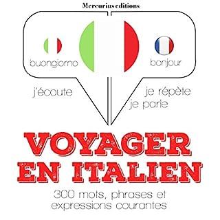 Couverture de Voyager en italien, 300 mots, phrases et expressions essentielles