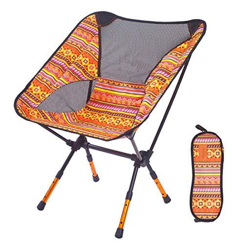 SSNG Chaise de Camping Pliante légère et réglable en Hauteur avec Cadre en Alliage d'aluminium, 1