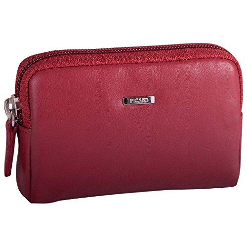 Picard Bingo 8976 Damen Schlüsseletui Echtes Leder 10.5x7x3 cm (BxHxT), Farbe:Rot