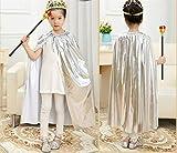Matissa Cape und Krone Set Kostüm für Erwachsene und Kinder König Königin Prinz Prinzessin...