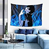 Mha Dabi Tapestry 3D Printing Wall Hanging Blanket Wall Art for Living Room Bedroom Home Decor 60x40 Inches