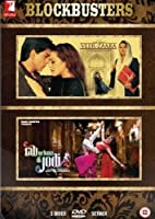 Blockbusters- Veer-Zaara and Rab Ne Bana Di Jodi (2 Classic Romantic Hindi Movies / Indian Cinema / Bollywood Film DVD in a Steelbook Set) by Shah Rukh Khan
