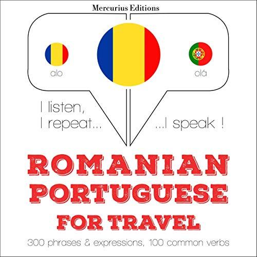 Romanian - Portuguese. For travel cover art