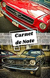 carnet voiture de collection : Ford Mustang: Carne