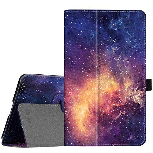 Fintie Hülle Hülle für Huawei M5 8 Tablet - Ultra Schlank Kunstleder Folio Schutzhülle Etui Tasche Hülle Cover mit Auto Sleep/Wake Funktion für Huawei MediaPad M5 21,34 cm (8,4 Zoll), Die Galaxie