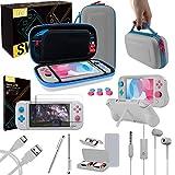 Orzly Funda para Nintendo Switch Lite Edición Z&Z - Estuche De Almacenamiento para Consola Juegos y Accesorios - Case Protector para Viaje