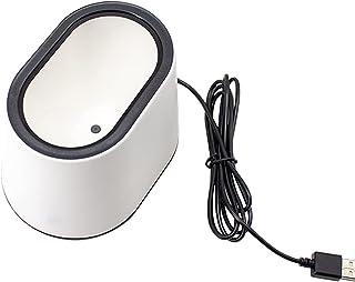 ماسح ضوئي، سطح المكتب 1D 2D QR الباركود قارئ بار سلكي USB قارئ كبير لنافذة المسح الضوئي يدعم الإستشعار التلقائي اليدين مجا...