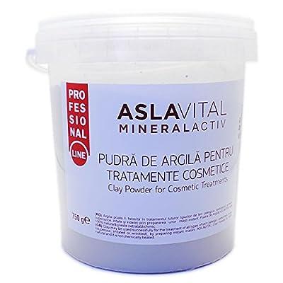 Aslavital MineralActiv Clay Powder for Cosmetic Treatments- PROFESSIONAL LINE 750 gr by Farmec