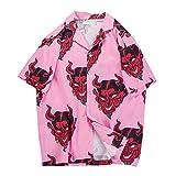 Camisas de playa de verano Hawaii Hip Hop Streetwear para ho