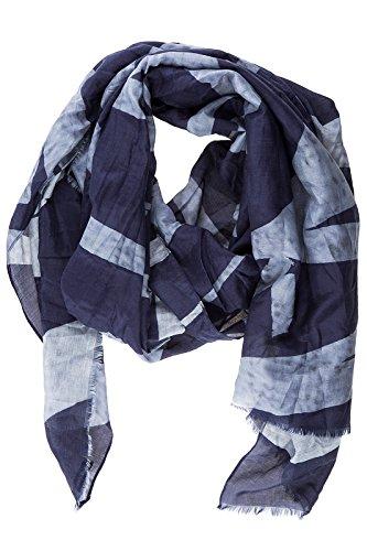 Armani Jeans Baumwollschal Herren Schal Halstuch Baumwolle blu