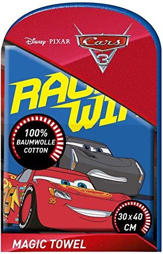 TV-24 Zauberhandtuch Kompatibel mit Disney Pixar Cars Magisches Handtuch Zauberhandtuch Waschlappen 3