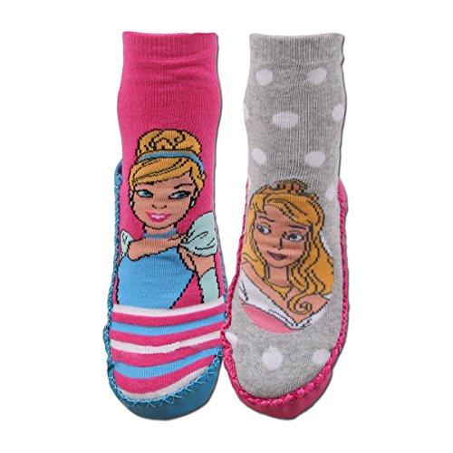 Disney Princess - Chaussons chaussettes lot de 2 PRINCESS