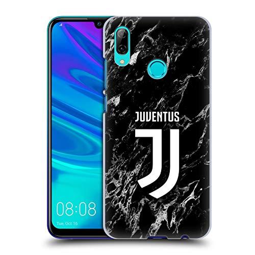 Head Case Designs sous Licence Officielle Juventus Football Club Noir Marbre Coque Dure pour l'arrière Compatible avec Huawei P Smart (2019)