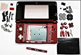 Brand New Red Replacement Housing Shell Case+Buttons Only for Nintendo 3DS