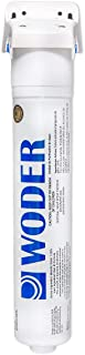 """Woder WD-S-8K Refrigerator Water Filter/Ice Maker Filter – WQA Certified - USA Made - With 1/4"""" Built-in John Guest Fittin..."""