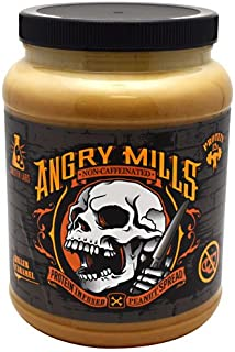 Sinister Labs Angry Mills Protein Infused Peanut Spread Killer Caramel Non-Caffeinated 75 oz