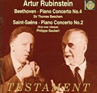 Piano Concert 4 / Piano Concerto 2 by BEETHOVEN & SAINT SAENS (1998-09-01)