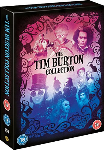 Tim Burton Collection - 8-DVD Box Set ( Batman / Batman Returns / Beetlejuice / Mars Attacks! / Pee-wee's Big Adventure / Charlie and the Ch [ Origine UK, Sans Langue Francaise ]