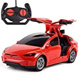 Modelo de coche Tesla recargable 2.4G RC Electrónica de Vehículos Carrera Remote Control de adultos de alta velocidad Deportes coche eléctrico Drift Racing For Kids Niños Niño Niña de cumpleaños exclu