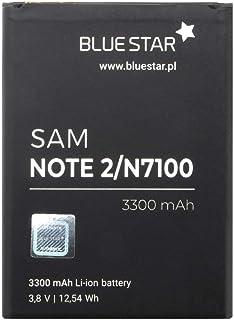 Blue Star Premium - Batería de Ion de Litio para Samsung Galaxy Note 2 (3300 mAh)