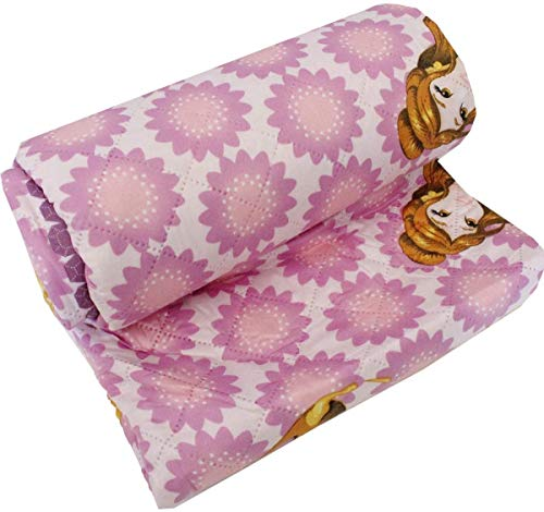 il dolce stile della tua casa Disney Princess Tagesdecke für Einzelbett, geeignet für Herbst & Frühling, 90 g.
