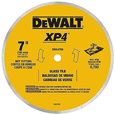 DEWALT Continuous Rim Glass Tile Blade