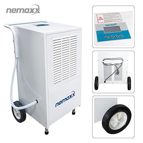 Nemaxx BT25 / BT55 / BT55X / BT80 / BT120 Deumidificatore-Asciugatore-Condensatore risultati professionali (max. 25l - 120l/Tag)