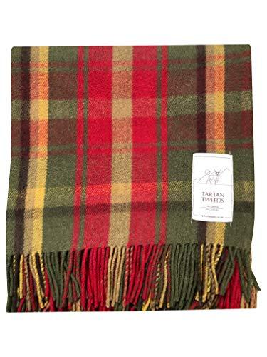Tartan Tweeds, tappeto/coperta da picnic in lana tartan da viaggio  Dark Maple Taglia unica