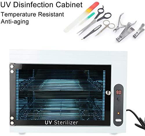 Sterilisator Manicure Gereedschap UV desinfectie Box Storage Case Organizer kabinet Schaar Towel Nail Gereedschap sterilisator Apparatuur voor Beauty Nail Metal Gereedschap