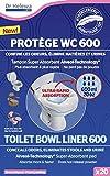 COPRI WC W600. Sacchetti igienici di FACILE chiusura con tampone super assorbente (600ml). L'UNICO ipoallergenico e dermatologicamente testato. (1 CONF. = 20 SACCHETTI CON TAMPONE)